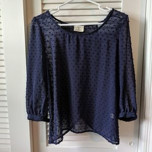 Anthropologie Pins and Needles top